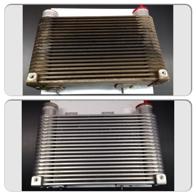 Alloy intercooler